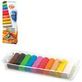 Пластилин KOH-I-NOOR, 10 цветов, 200 г, картонная коробка с пластиковым поддоном