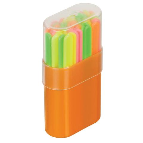 Счетные палочки СТАММ (50 штук) многоцветные, в пластиковом пенале