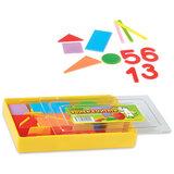 Касса цифр и счетных материалов СТАММ «Учись считать», 132 элемента