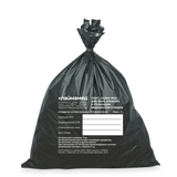 Мешки для мусора медицинские ЛАЙМА, комплект 50 шт., класс Г (чёрные), 30 л, ПРОЧНЫЕ, 50×60 см, 18 мкм