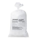 Мешки для мусора медицинские ЛАЙМА, комплект 50 шт., класс А (белые), 100 л, ПРОЧНЫЕ, 60×100 см, 22 мкм