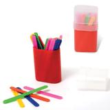 Счетные палочки (30 штук) в пластиковом пенале