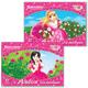 Альбом для рисования, 12 л., BRAUBERG (БРАУБЕРГ), детская серия, обложка мелованный картон, «Нежные принцессы», 2 вида