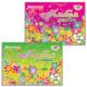 Альбом для рисования, 32 л., BRAUBERG (БРАУБЕРГ), обложка мелованный картон, выборочный лак, «Цветы», 2 вида