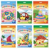 Набор для творчества АППЛИКА «Аппликация из разноцветных бумажных шариков»: основа, калька, клей, декор