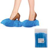 Бахилы ОСОБО ПРОЧНЫЕ, комплект 100 штук (50 пар), чехлы для обуви, размер 39×15 см, ПВД 35 мкм, евроупаковка