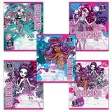 Тетрадь 12 л., HATBER, клетка, блестки, «Monster High»