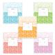 Тетрадь 12 л., ERICH KRAUSE, клетка, обложка мелованный картон, «Декоративная классика»