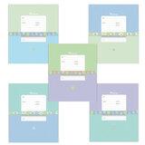 Тетрадь 12 л., ERICH KRAUSE, клетка, обложка мелованный картон, «Классика с орнаментом»