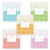 Тетрадь 12 л., ERICH KRAUSE, линия, обложка мелованный картон, «Декоративная классика»