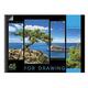 Альбом для рисования, А3, 48 л., HATBER HD, спираль, жесткая подложка, 120 г/<wbr/>м<sup>2</sup>, «Пейзаж»