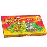 Пластилин классический ГАММА «Мультики», 16 цветов, 320 г, со стеком, картонная упаковка