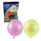 """Шары воздушные 16"""" (41см), комплект 25 шт., панч-болл (шар-игрушка с резинкой), 12 неоновых цветов, 8 рисунков, пакет"""