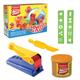 Пластилин на растительной основе ERICH KRAUSE Artberry «Squeeze & Play» («Экструдер»), 2 цвета, 100 г + 4 предмета