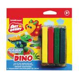 "Пластилин мягкий ERICH KRAUSE Artberry «Dino"" (""Динозавры»), 4 цвета, 60 г, европодвес"