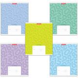 Тетрадь 12 л., ERICH KRAUSE, клетка, обложка мелованный картон, «Типографика цифры»
