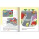 Книжка-пособие А5, 16 л., HATBER с наклейками, Нескучные уроки, «Учимся осторожности»