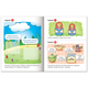 Книжка-пособие А5, 8 л., HATBER с наклейками, Полезные задания, «Кузнечик»
