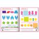 Книжка-пособие А5, 8 л., HATBER с наклейками, Тесты по математике, «Логика»