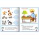 Книжка-пособие А5, 8 л., HATBER с наклейками, Тесты по математике, «Решение задач»