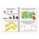Книжка-пособие А5, 8 л., HATBER, «Весёлые домашние задания», для детей 4-5 лет
