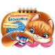 Книжка-пособие А6, 16 л., HATBER, Занимательный блокнотик, гребень, «Кошечка»