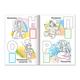 Книжка-раскраска А4, 8 л., HATBER с наклейками, Азбука, «Сказки»