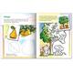 Книжка-раскраска А5, 8 л., HATBER с наклейками, Дорисуй и раскрась, «Деревья»