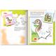Книжка-раскраска А5, 8 л., HATBER с наклейками, Дорисуй и раскрась, «Домашние животные»