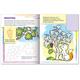 Книжка-раскраска А5, 8 л., HATBER с наклейками, Дорисуй и раскрась, «Ягоды»