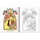 Книжка-раскраска А5, 8 л., HATBER, Первые уроки, «Народные промыслы»
