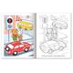 Книжка-раскраска А5, 8 л., HATBER, Первые уроки, «Правила дорожного движения»