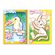 Книжка-раскраска А5, 8 л., HATBER, с цветным контуром, «Зоопарк», детям 3-4 лет