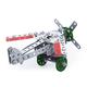 Конструктор металлический «Самолет», с подвижными деталями, 143 элемента, «Десятое королевство»