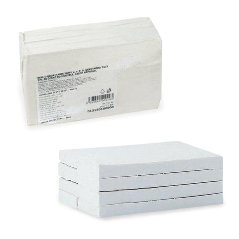 Пластилин KOH-I-NOOR, белый, 1000 г, мягкий