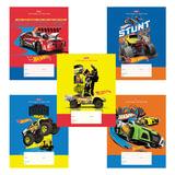 Тетрадь 12 л., HATBER, линия, мелованный картон обложка, «Машинки-(Hot wheels)»