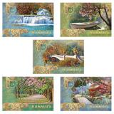 Альбом для рисования, 24 л., HATBER VK, спираль, обложка мелованный картон, 100 г/<wbr/>м<sup>2</sup>, «Романтика»