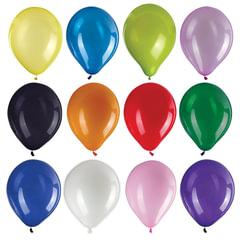 """Шары воздушные ZIPPY (ЗИППИ) 10"""" (25 см), комплект 50 шт., ассорти 12 цветов, в пакете"""