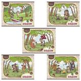 Альбом для рисования, 12 л., HATBER, обложка мелованный картон, 100 г/<wbr/>м<sup>2</sup>, «Лесные друзья-(NICI)»