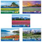 Альбом для рисования, 32 л., HATBER (VK), обложка офсет, 100 г/<wbr/>м<sup>2</sup>, «Мир в цветах»