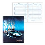 Дневник для 1-4 классов, твердый, BRAUBERG, выборочный лак, «Спортивный автомобиль»