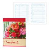 Дневник для 5-11 классов, твердый, BRAUBERG (БРАУБЕРГ), блестки, «Букет роз»