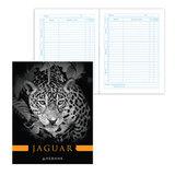 Дневник для 5-11 классов, твердый, BRAUBERG (БРАУБЕРГ), ламинированная обложка, «Ягуар»