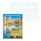 Дневник для 5-11 классов, твердый, BRAUBERG (БРАУБЕРГ), ламинированная обложка, «Удивительная природа»