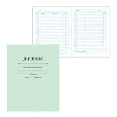 Дневник для 1-11 классов, твердый, BRAUBERG, ламинированная обложка, «Однотонный светло-зеленый»