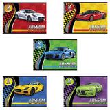 Альбом для рисования, 8 л., HATBER VK, обложка офсет, 100 г/<wbr/>м<sup>2</sup>, «Спортивные авто» (5 видов)