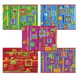Альбом для рисования, 12 л., HATBER VK, обложка офсет, 100 г/<wbr/>м<sup>2</sup>, «Яркие краски» (5 видов), 12А4С