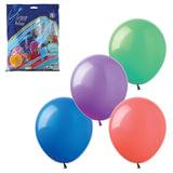 """Шары воздушные 14"""" (36 см), комплект 100 шт., 12 пастельных цветов, в пакете"""