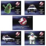 Альбом для рисования, 24 л., HATBER, обложка мелованный картон, 100 г/<wbr/>м<sup>2</sup>, «Охотники за привидениями» (5 видов)