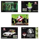 Альбом для рисования, 32 л., HATBER, спираль, обложка мелованный картон, 100 г/<wbr/>м<sup>2</sup>, «Охотники за привидениями», 32А4Всп